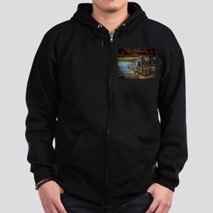 Under The Bridge Zip Hoodie (Dark)